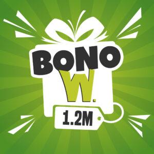 Bonos W. 1.2M - W. Wilfredo Chacón Peluquerías